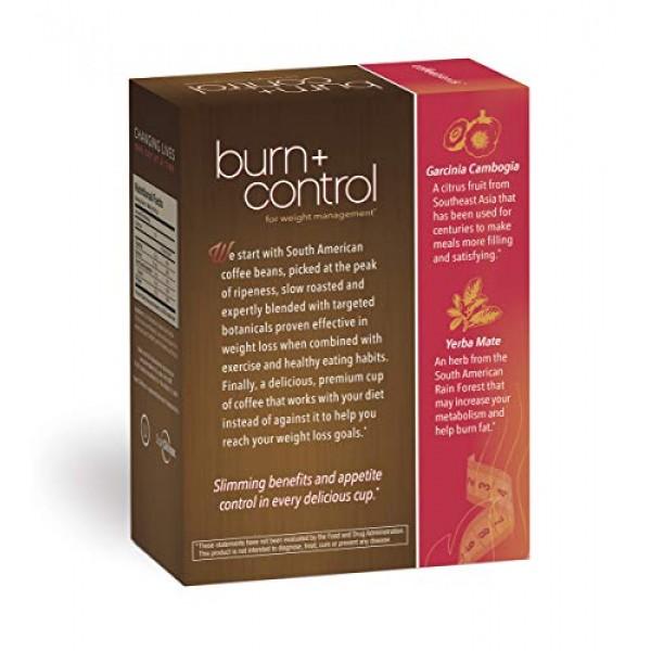 Burn + Control Coffee, Premium 100% South American Arabica, Robu...