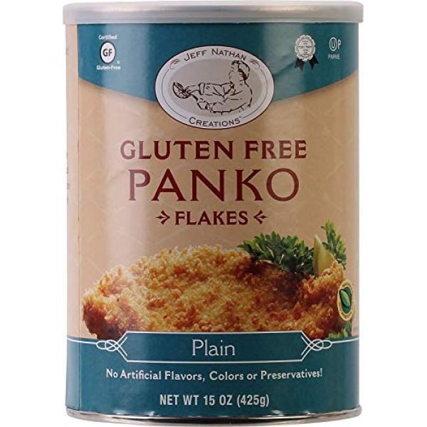 CheffJeff Nathan Creations, Gourmet Panko Plain Gluten Free, 15 ...