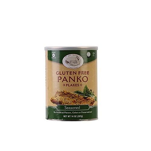 Jeff Nathan Creations Chef Gourmet Panko Seasoned Gluten Free, 1...