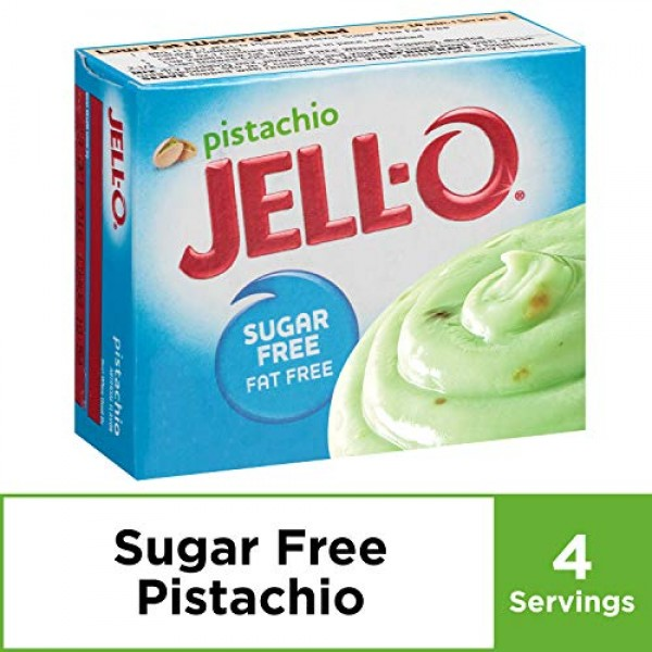 JELL-O Sugar Free Fat Free Instant Pudding & Pie Filling Mix, Pi...