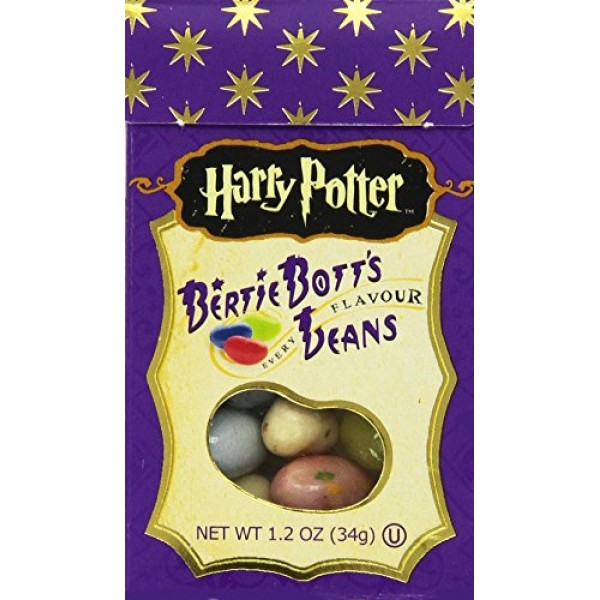 Jelly Belly Harry Potter Bertie Botts, 1.2-Ounce Pack of 8