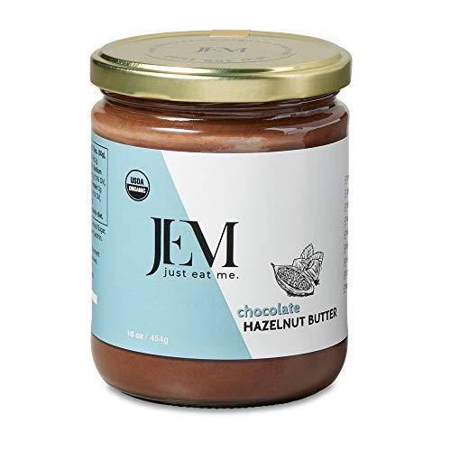 JEM - All Natural, Vegan, Organic, Dairy Free Chocolate Hazelnut...