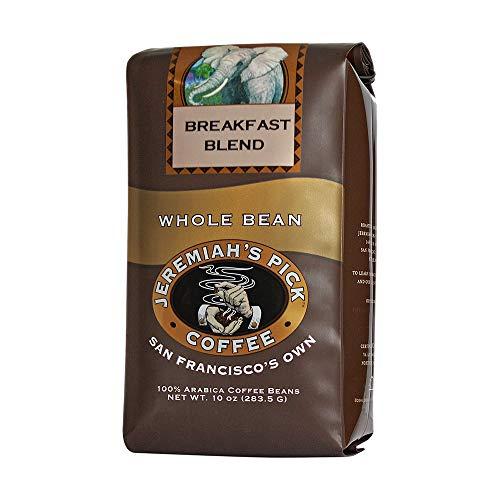 Jeremiahs Pick Coffee Breakfast Blend, Dark Roast Whole Bean Co...