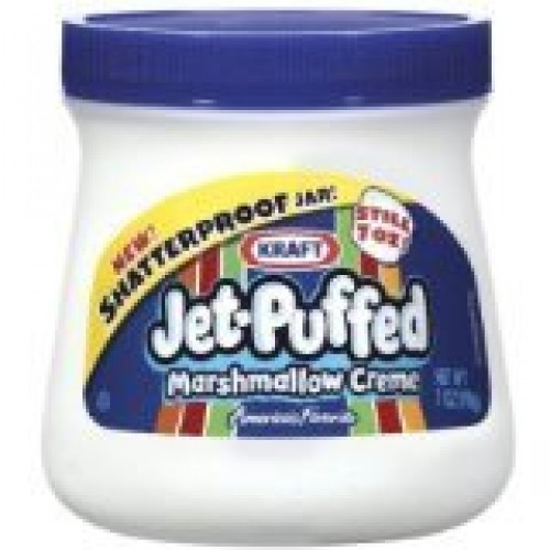 Kraft, Jet-Puffed, Marshmallow Creme Spread, 7oz Tub Pack of 4