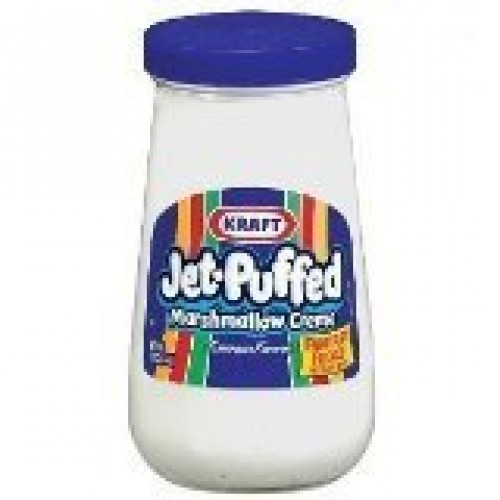 Kraft, Jet-Puffed, Marshmallow Crème Spread, 13oz Jar Pack of 4