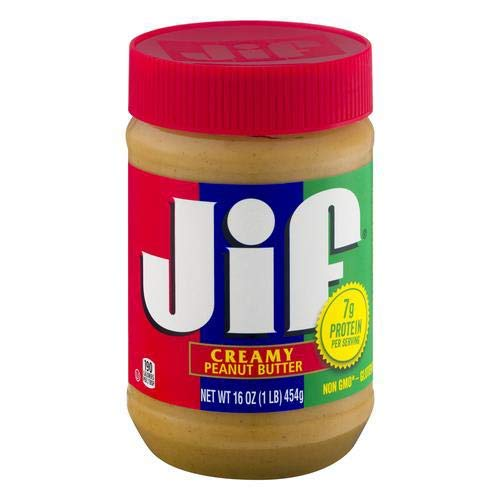 Jif 16 Oz Creamy Peanut Butter Pack of 2