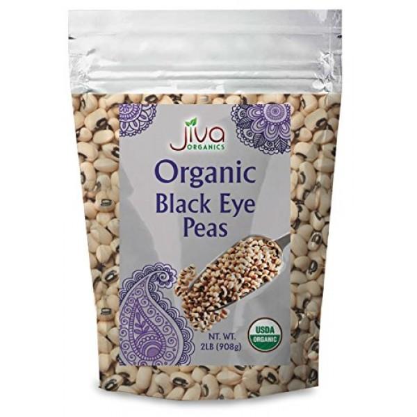 Black Eye Peas 2 Lb - Organic & Non Gmo Beans -100% Raw Dried Co...