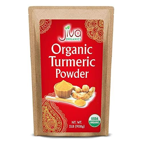Organic Turmeric Root Powder 2 lb Bag with Curcumin & Non-GMO - ...