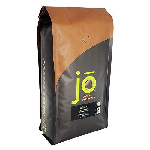 WILD JO: 2 lb, Dark French Roast Organic Ground Coffee, Bold Str...