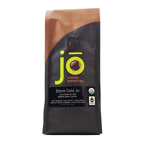 STONE COLD JO: 12 oz, Cold Brew Coffee Blend, Dark Roast, Whole ...