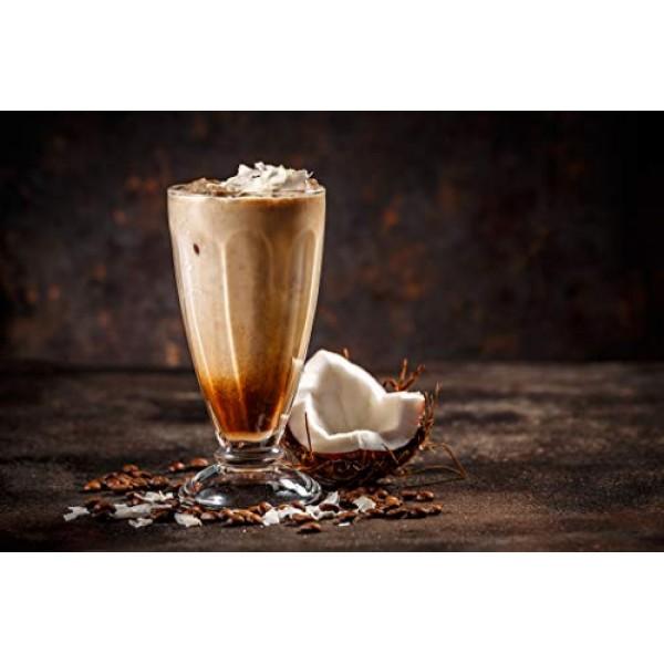 Joe Knows Coffee Ground Coconut Crazy Joe, 12 oz Ground Flavore...