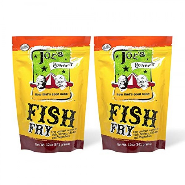 Joes Gourmet Fish Fry, Seafood Breading Mix, As Seen on Shark T...