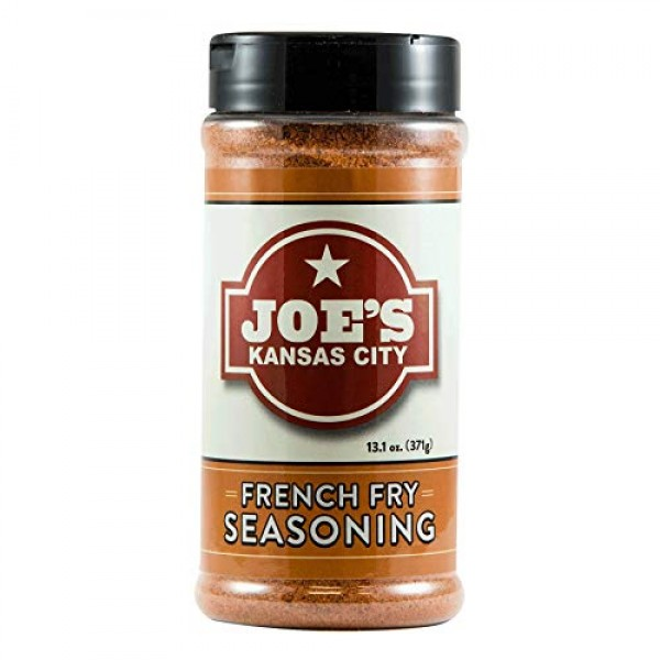 Joes Kansas City French Fry Seasoning Large 13.1 oz