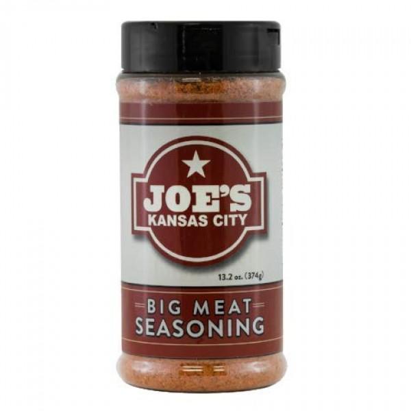 Joes Kansas City Big Meat Seasoning - BBQ - LARGE 13.2 oz