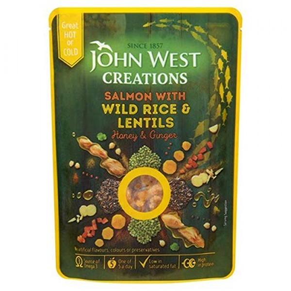 John West Creations Honey Salmon - 180g 0.39 lbs