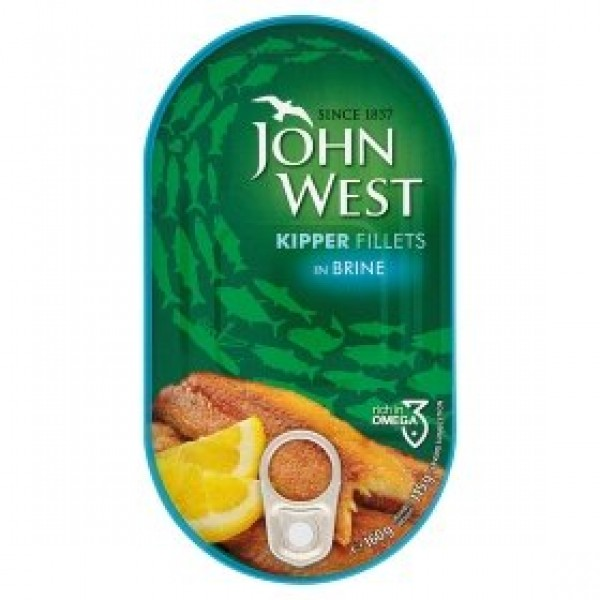 John West Kipper Fillets in Brine 160g x10