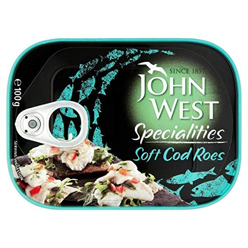 John West Soft Cod Roes 100g