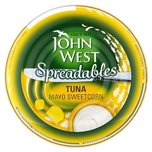 John West Spreadables Tuna Mayo & Sweetcorn 80g