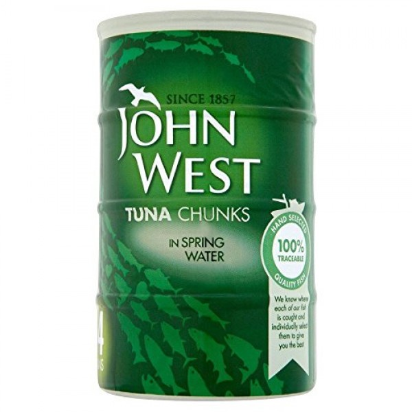 John West Tuna Chunks in Spring Water 4 x 160g