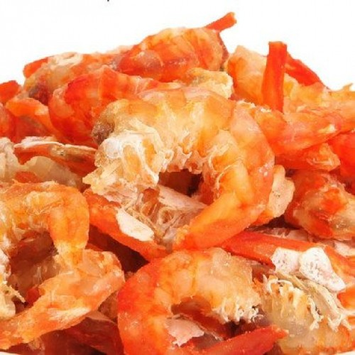 2 Pound 908 grams dried seafood large-sized shrimp meat from C...