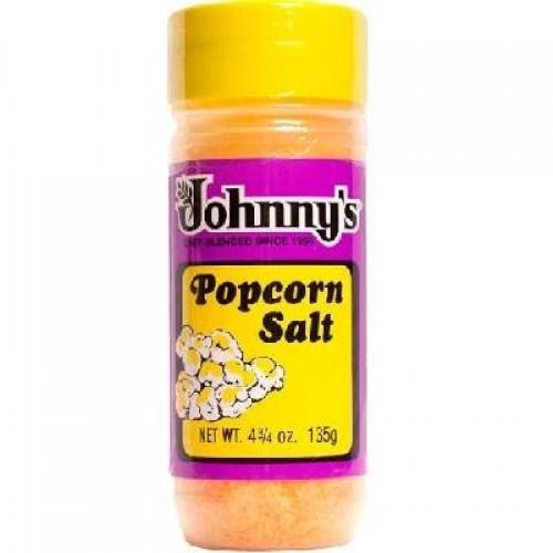 Johnnys Popcorn Salt 4.75 oz