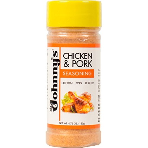 Johnnys Chicken and Pork Seasoning, 4.75 Ounce Pack of 6