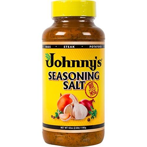 Johnnys Seasoning Salt, No Msg, 42 Ounce