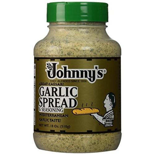 Johnnys Garlic Spread & Seasoning - 18 Oz 2-Pack