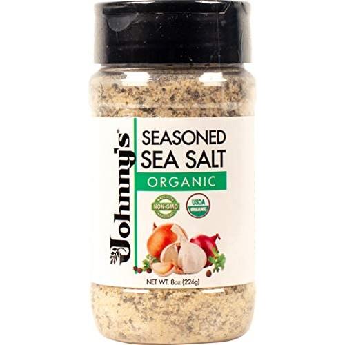 Johnnys Organic Seasoned Sea Salt 1 Pack