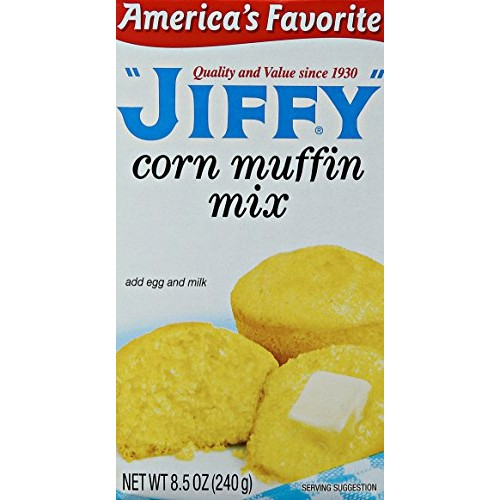 Jolly Time Jiffy Corn Muffin Mix, 8.5 oz 6 Pack