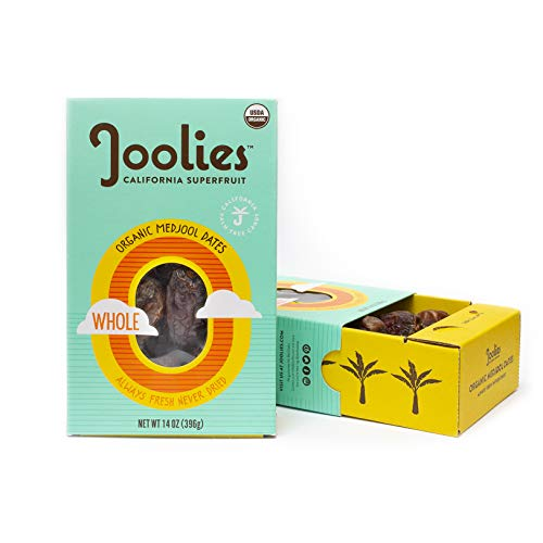 Joolies - Organic Medjool Dates, Whole 14 Ounce - 2 Pack, Cali...