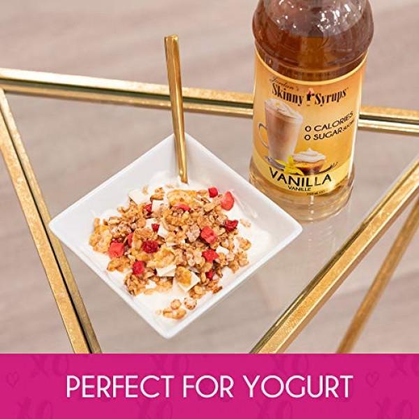 Jordan's Skinny Syrups | Sugar Free Vanilla Caramel Crème Coffee...