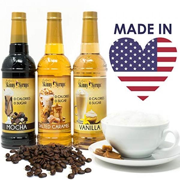 Jordan's Skinny Syrups | Sugar Free Raspberry Syrup | Healthy Fl...
