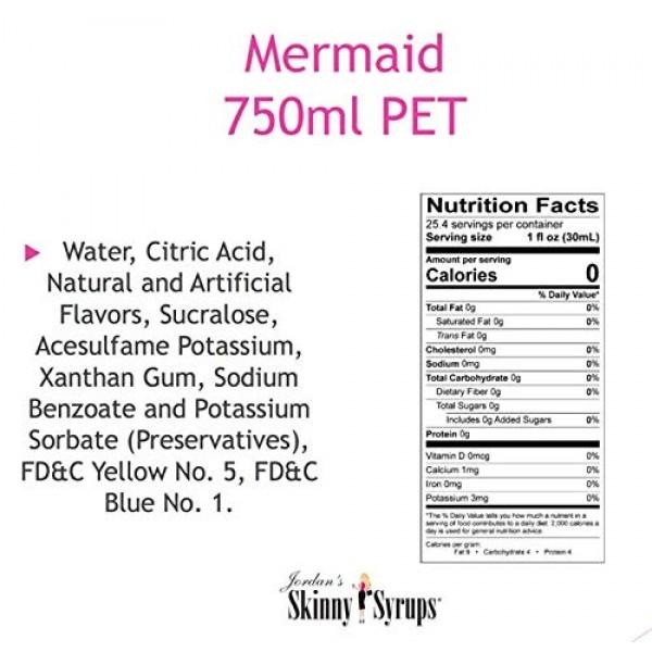 Jordans Skinny Syrups Ice Cream Collection Mermaid