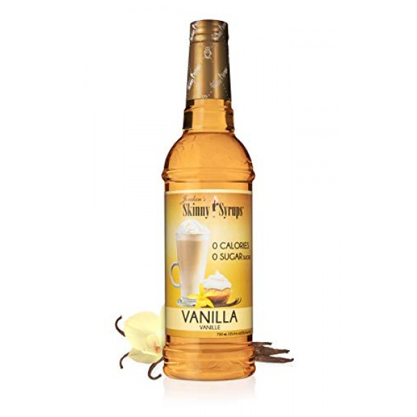 Jordans Skinny Gourmet Syrups Sugar Free, Vanilla, 25.4-Ounce