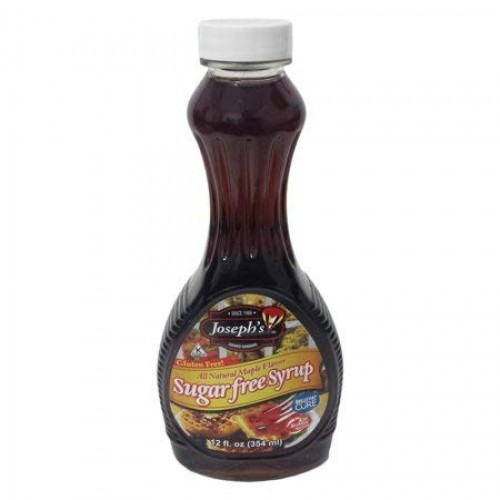 Value 3 Pack: Josephs Sugar Free Maple Syrup, 12 oz.