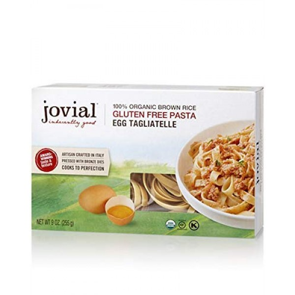 Jovial Pasta Brwnrce Tagliatelle 9oz pack of 3