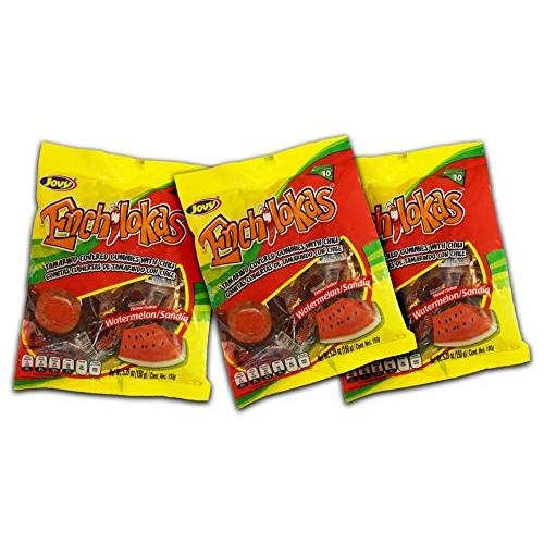 Jovy Enchilokas Watermelon Flavor & Tamarind Covered Gummies wit...