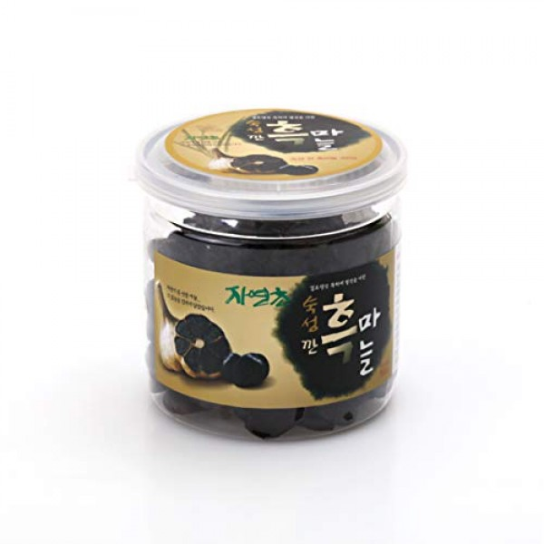 Joy Natural Fermented Black Garlic Peeled Cloves, Packed in tran...
