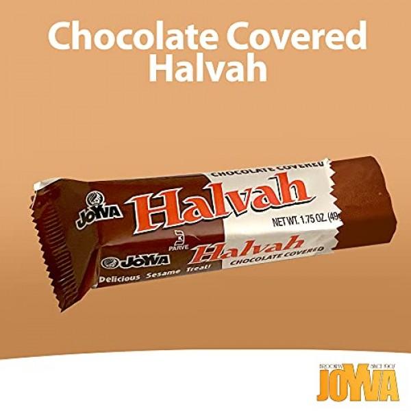Joyva Halvah Bars - A Delicious Sesame Treat, Chocolate Covered ...