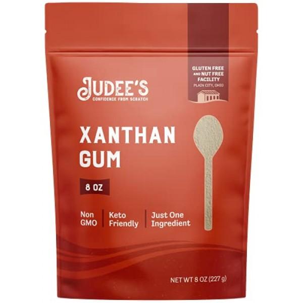 Judees Xanthan Gum Gluten Free8 oz - USA Packed & Filled - De...
