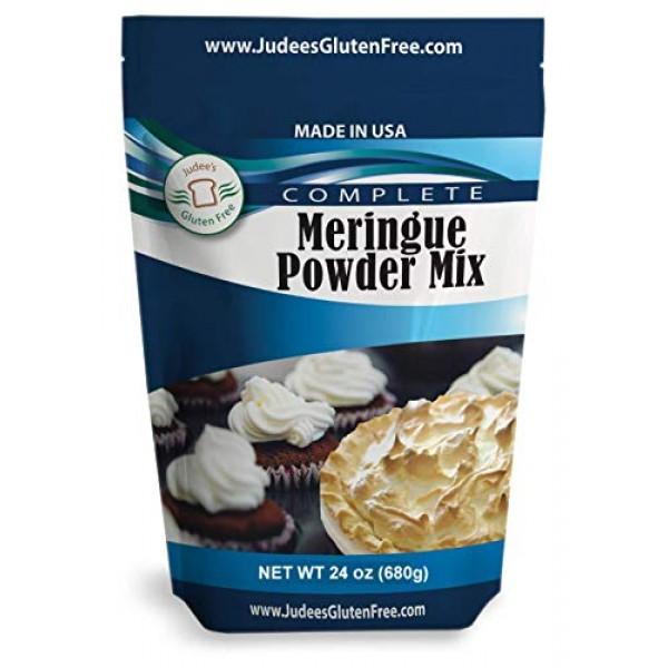 Judees Meringue Powder Mix 24 Oz: No Preservatives: ideal for...