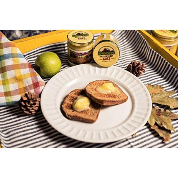 Julian's Valleys Organic Farm Recipe Clarified Butter - Ghee 16O...