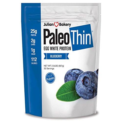 Paleo Thin Protein Powder Blueberry Tart 30 Servings 2 lbs M...