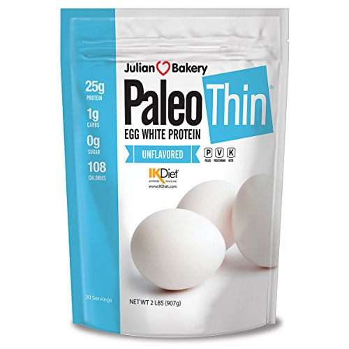 Julian Bakery Paleo Thin Protein Powder | Egg White | Unflavored...