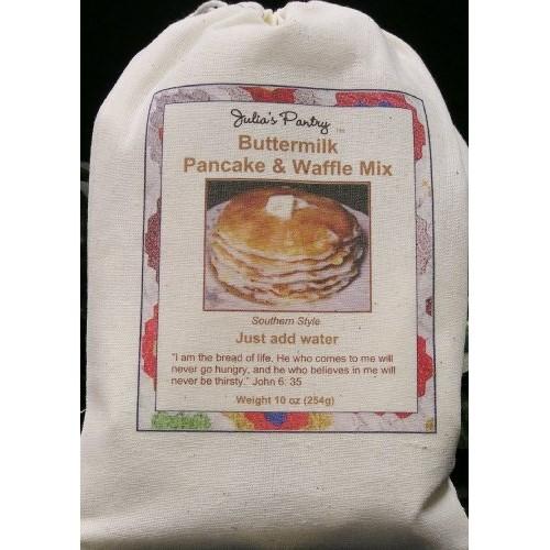 Julias Pantry Pancake and Waffle Mix, Buttermilk, 10 Ounce