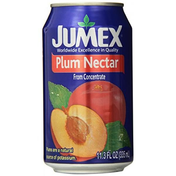 Jumex Plum Nectar, 11.30 Ounce Pack of 24