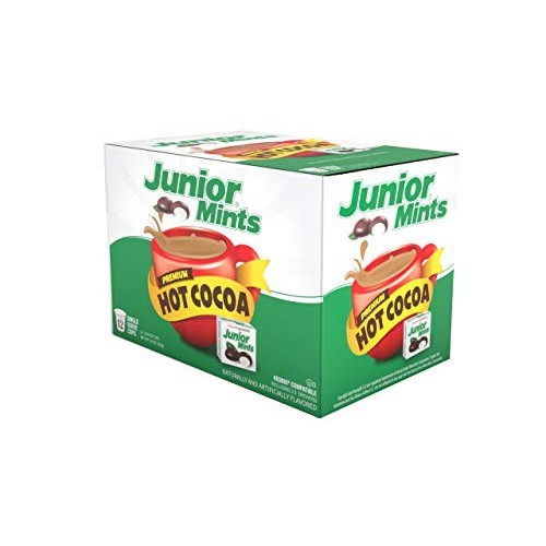 Junior Mint Chocolate MintSingle-Cup Hot Cocoa for Keurig K-Cup ...