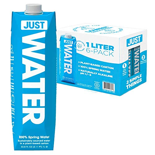 JUST Water, Premium Pure Still Spring Water in an Eco-Friendly B...