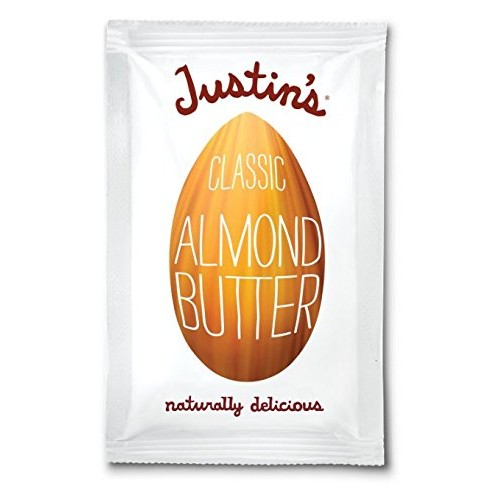Justins Nut Butter Natural Classic Almond Butter 10 Count Squee...